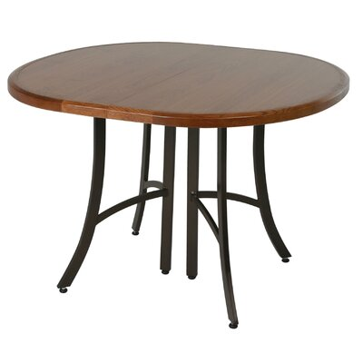 Aahil Extendable Dining Table Base Color: Accent Burnished, Top Color: Windsor