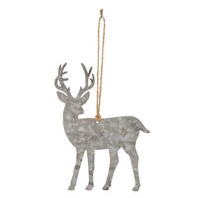 Metal Reindeer Shaped Ornament