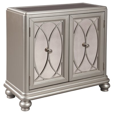 Castor 2 Door Accent Cabinet