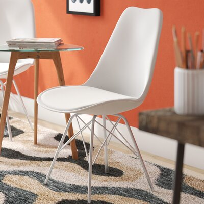 Christofor Guest Chair Color: White
