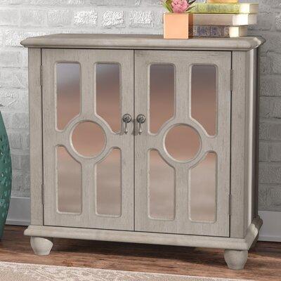 Eladia Storage 2 Door Accent Cabinet Color: Antique Taupe