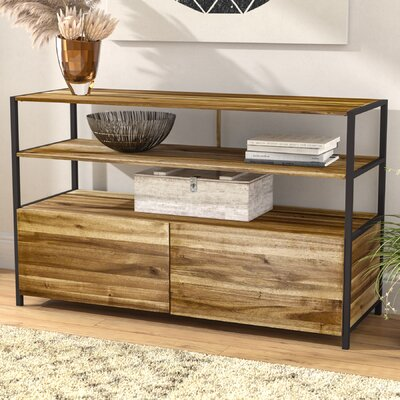 Degregorio Wood 2 Drawer Accent Cabinet