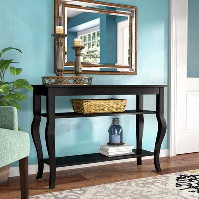 Danby Console Table Color: Satin Black