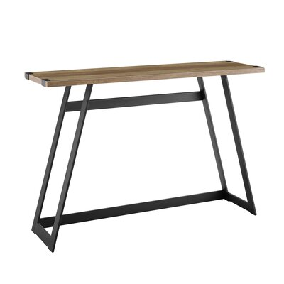 Bowling Console Table Color: Rustic Oak