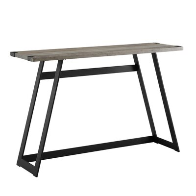 Bowling Console Table Color: Gray Wash