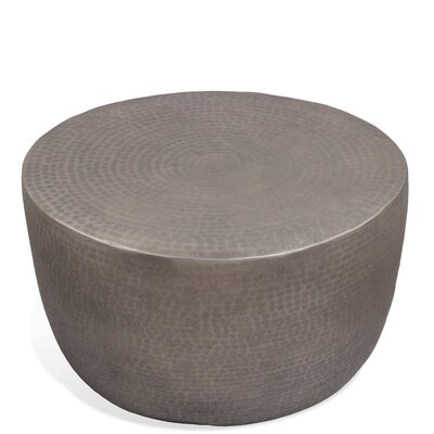 Jakey Coffee Table Color: Antique Pewter