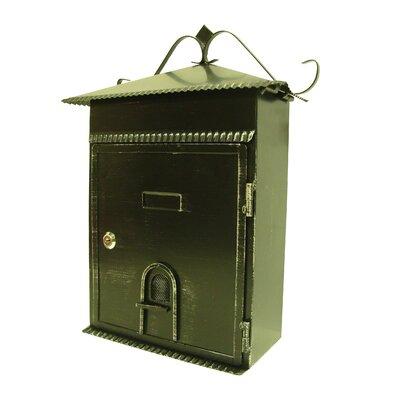 Vintage Locking Wall Mounted Mailbox