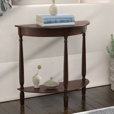 Wedgewood Console Table Color: Walnut