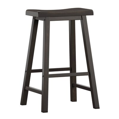 "Sharman 29"" Bar Stool Color: Antique Black"