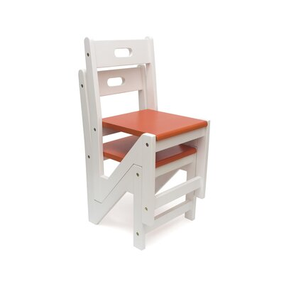 Thelonius Kids Chair Color: Orange