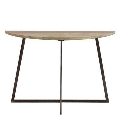 Mckee Half Moon Console Table