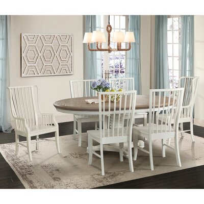 Miner 7 Piece Extendable Dining Set