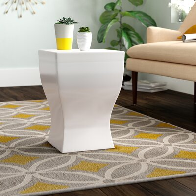 Brode Square Stool Finish: White