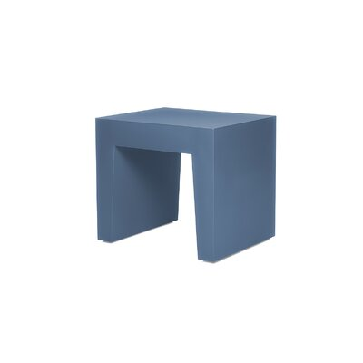 Accent Stool Color: Pigeon Blue