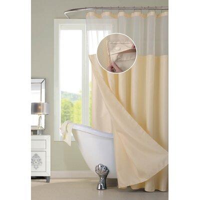 Susquehanna Water Repellent Shower Curtain Color: Beige