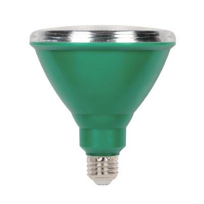 15W E26 LED Floodlight Light Bulb Green