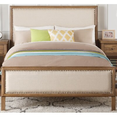 Commonwealth Panel Bed with Padded Size: Full
