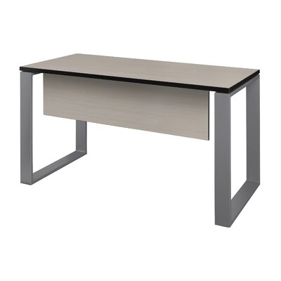 "Mireya Training Table with Modesty Panel Base Finish: Gray, Tabletop Finish: Maple, Size: 29"" H x 42"" L x 24"" W"