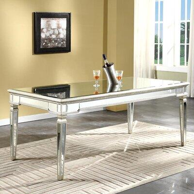 Yuri Mirrored Dining Table