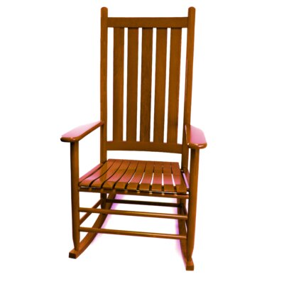 Thor Rocking Chair Color: Medium Oak