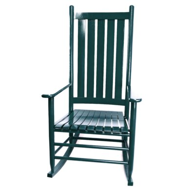 Thor Rocking Chair Color: Green