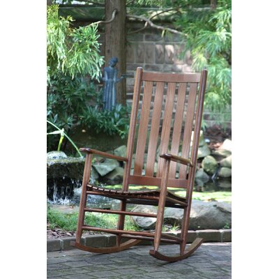 Thor Rocking Chair Color: Woodleaf Hickory
