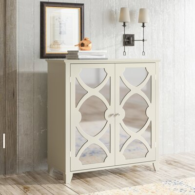 Kohut 2 Door Accent Cabinet Color: Cream