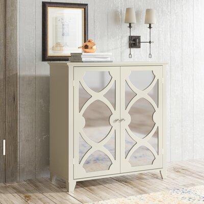 Kohut 2 Door Accent Cabinet Color: Cream