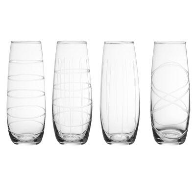 Garrett Glass 4 Piece Assorted Glass Set