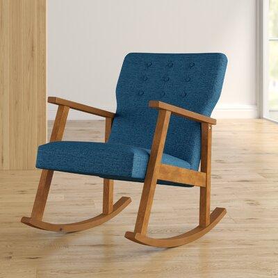 Welborn Rocking Chair Fabric: Muted Blue