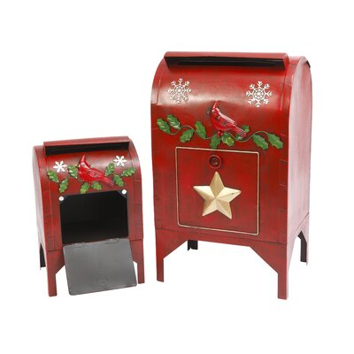Nesting Holiday 2 Piece Drop Box Set