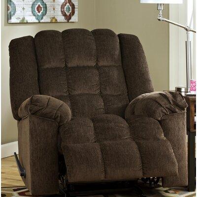 Maeva Rocker Recliner Upholstery: Cocoa, Reclining Type: Manual