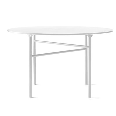 """Snaregade Round Dining Table Size: 28.74"""" H x 47.24"""" W x 47.24"""" D"""