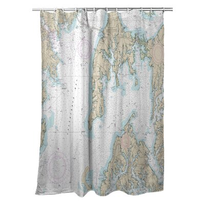 Kent Island, MD Shower Curtain