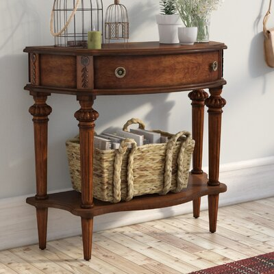 Hawkesbury Console Table Color: Cherry