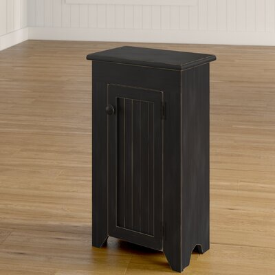 Bares Accent Cabinet Color: Old Black