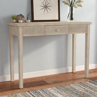 Calixta Contemporary Console Table Color: Grey