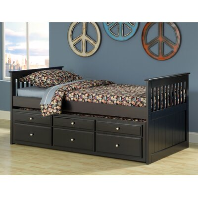 Danton Twin over Twin Mate's and Captain's Bed with Drawer