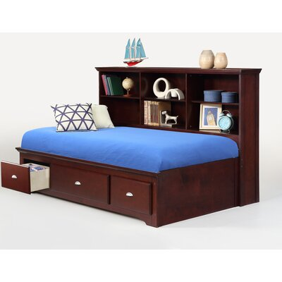 Dearborn Sideway Platform Bed with Drawer Size: Full