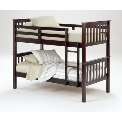 Dasheil Twin over Twin Bunk Bed