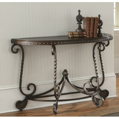 Vega Metal Etched Console Table