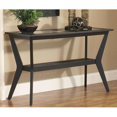 Spinella Console Table Color: Black