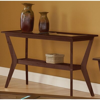 Spinella Console Table Color: Cherry