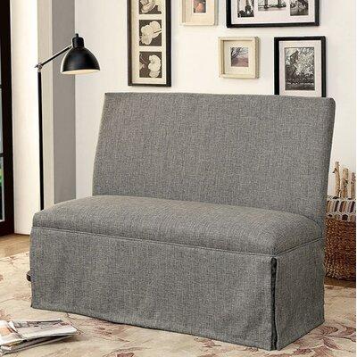 Cohen Upholstered Bench Upholstery: Gray