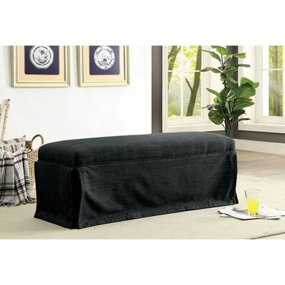 Cohen Upholstered Bench Upholstery: Dark Gray