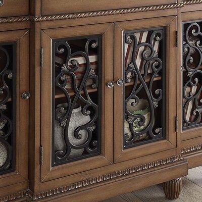 Toney Hallway 3 Drawer Accent Cabinet Color: Dark Oak