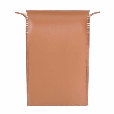 Leather Bin Color: Saddle