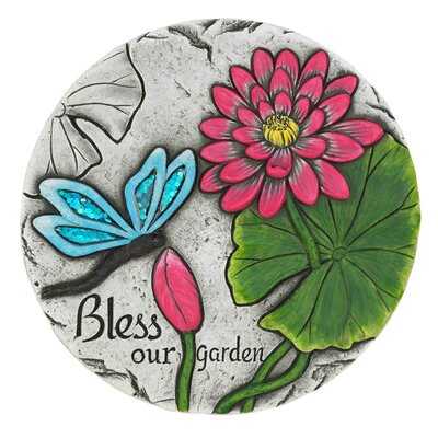 Macaulay Bless Our Garden Butterfly Step Stone