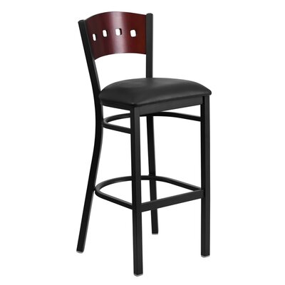 Maurice 32'' Barstool Color: Black