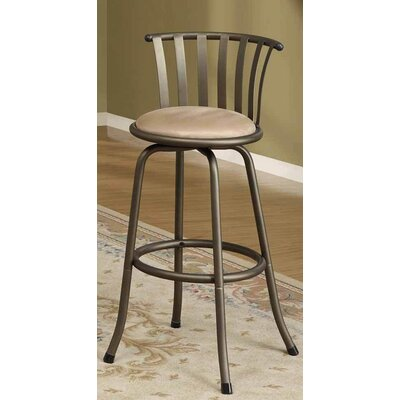 Maritza Adjustable Swivel Bar Stool